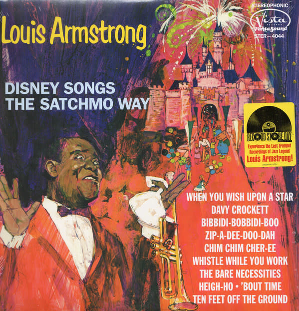 Jazz Louis Armstrong - Disney Songs The Satchmo Way