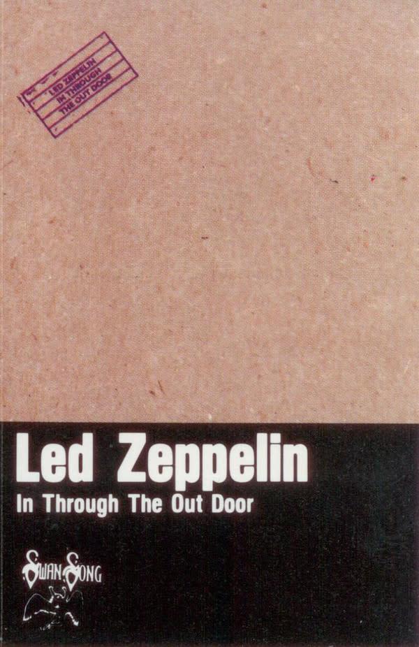Rock/Pop Led Zeppelin - In Through The Out Door
