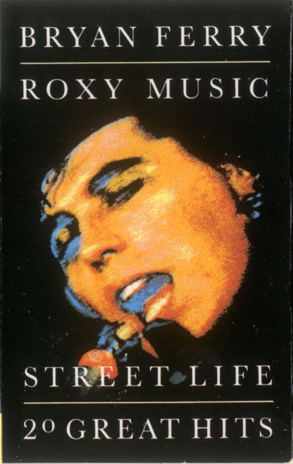 Rock/Pop Bryan Ferry * Roxy Music - Street Life * 20 Great Hits