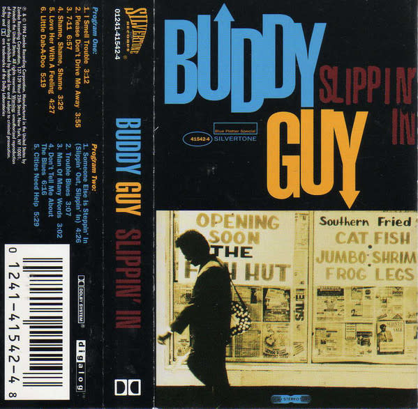 Blues Buddy Guy - Slippin' In (Sealed)