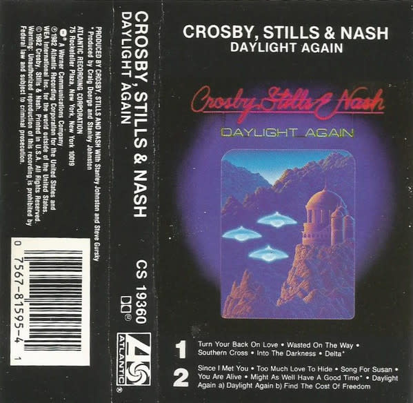 Rock/Pop Crosby, Stills & Nash - Daylight Again