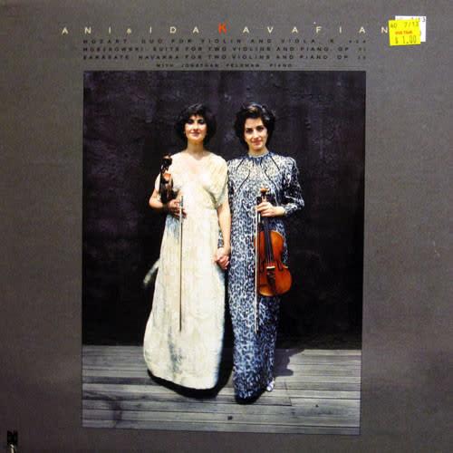 Classical Ani & Ida Kavafian - Mozart / Moszkowski / Sarasate (VG)