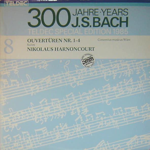 Classical Bach - Ouvertüren Nr. 1-4 - Harnoncourt (2LP) (VG+)