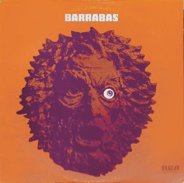 Rock/Pop Barrabas - S/T (VG+) (Price Reduced: superficial warp, does not affect play)