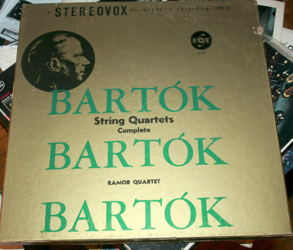 Classical Bartók - String Quartets Complete - Ramor Quartet (3LP Box Set) (VG+) (Price Reduced: box condition)