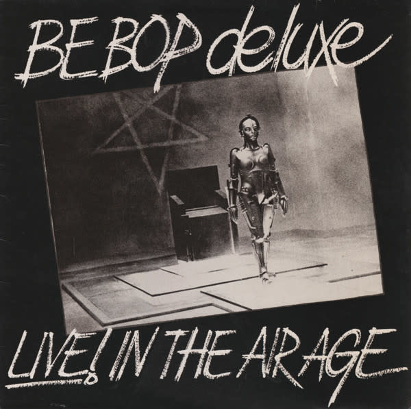 Rock/Pop Be Bop Deluxe - Live! In The Air Age (VG)