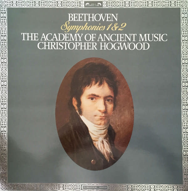 Classical Beethoven - Symphonies 1 & 2 - Hogwood (NM)