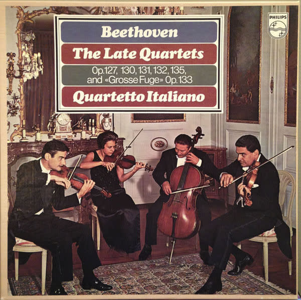 Classical Beethoven - The Late Quartets - Quartetto Italiano (4LP Box Set) (NM)