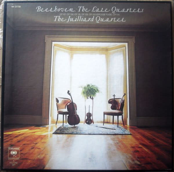 Classical Beethoven - The Late Quartets - The Juilliard Quartet (4LP Box Set) (VG+) (Price Reduced: box condition)