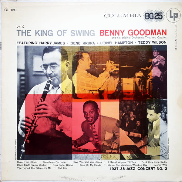 Jazz Benny Goodman - The King Of Swing Vol. 2 (VG+)