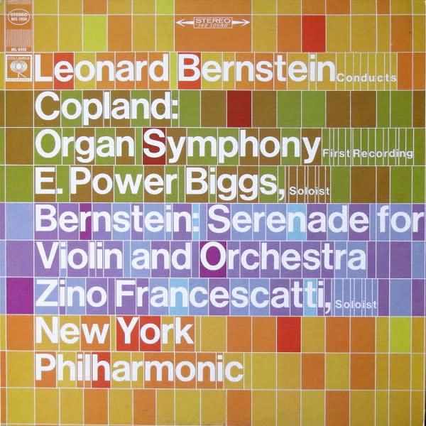 Classical Bernstein Conducts Copland / Bernstein - Biggs / Francescatti (VG+)