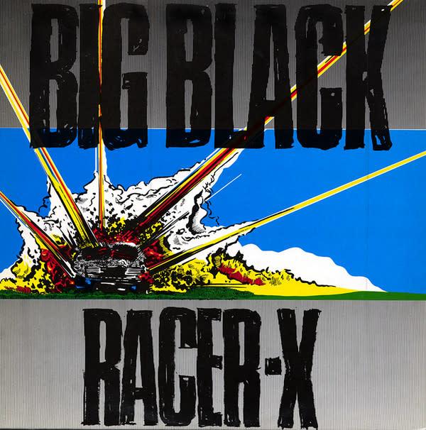 Rock/Pop Big Black - Racer-X (Homestead Press) (VG+)