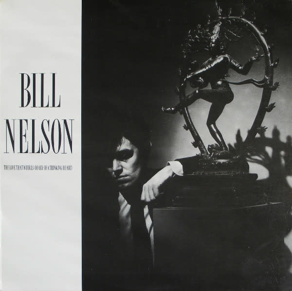 Rock/Pop Bill Nelson - The Love That Whirls (Diary Of A Thinking Heart) / La Belle Et La Bete (Beauty And The Beast) (VG+)