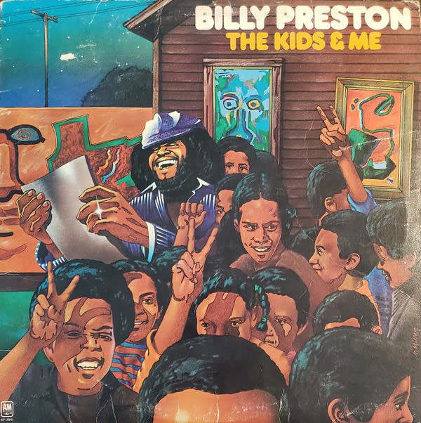 R&B/Soul/Funk Billy Preston - The Kids & Me (VG)