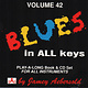 Blues Blues In All Keys - Produced by Jamey Aebersold (VG++)