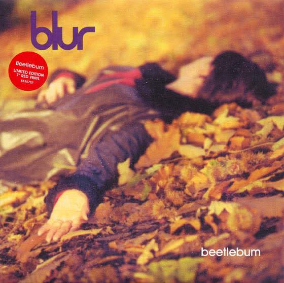 Rock/Pop Blur - Beetlebum (Red Vinyl) (VG+)