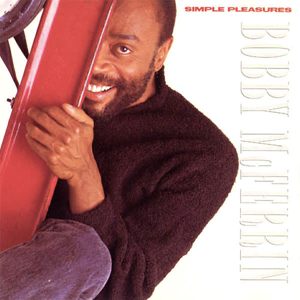 Jazz Bobby McFerrin - Simple Pleasures (VG++; small tears to spine; sticker residue + bit of pen on cover)