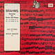 Classical Brahms - Oistrakh / Ginsburg - Sonatas For Violin And Piano (U.S.S.R.) (VG++)