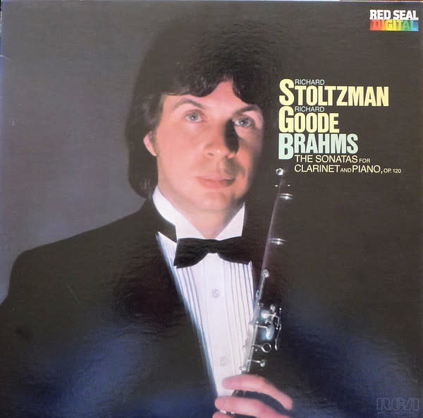 Classical Brahms - Stoltzman / Goode - Sonatas For Clarinet and Piano (VG++)