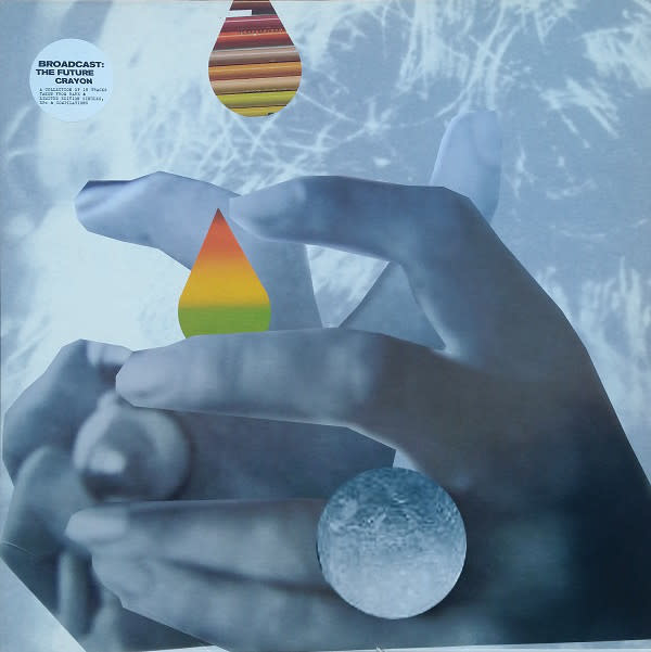 Rock/Pop Broadcast - The Future Crayon (2006 press, seam split on top of sleeve) (VG++)