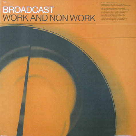 Rock/Pop Broadcast - Work And Non Work (Original 1997 Drag City Press) (VG+)