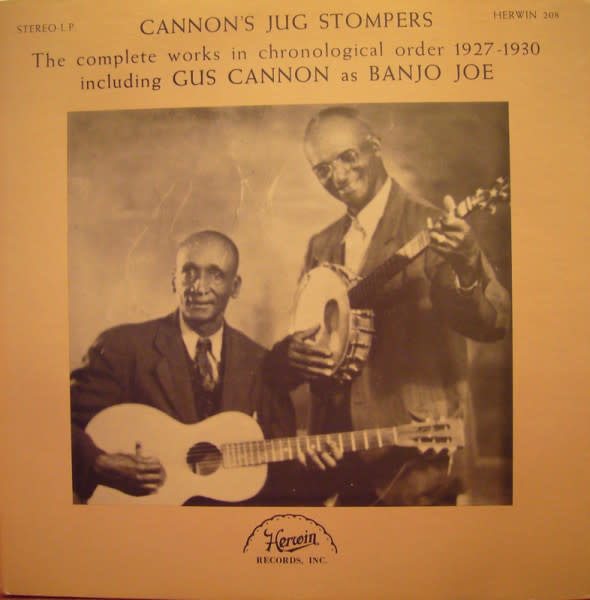Folk/Country Cannon's Jug Stompers - The Complete Works In Chronological Order 1927-1930 (NM)