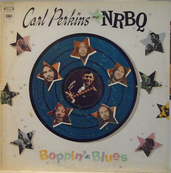 Rock/Pop Carl Perkins And NRBQ - Boppin' The Blues (VG+)