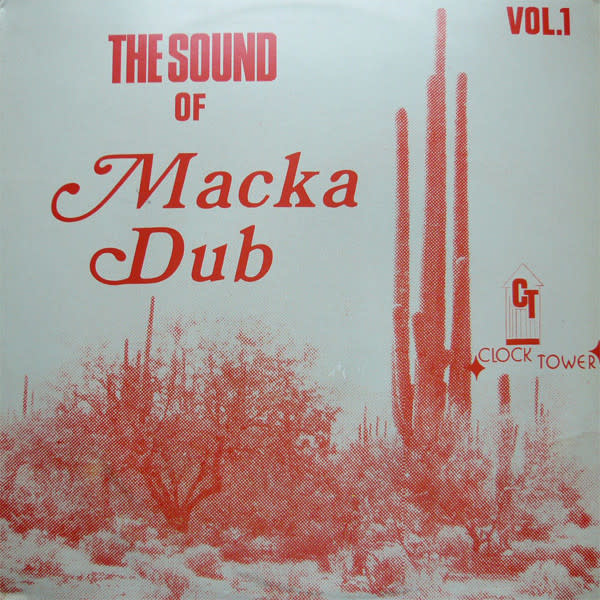 "Reggae/Dub Carlton & ""Family Man"" Barrett - The Sound Of Macka Dub Vol. 1 (Purple Marble Vinyl) (VG+)"