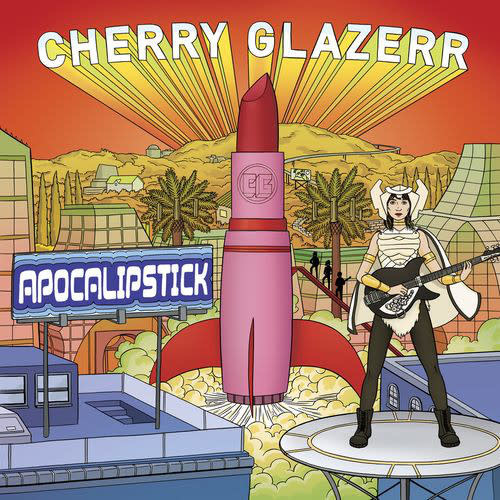 "Rock/Pop Cherry Glazerr - Apocalipstick (White Vinyl + 7"") (VG++)"