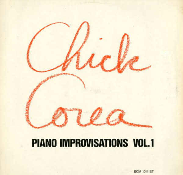 Jazz Chick Corea - Piano Improvisations Vol. 1 (Germany) (VG+)