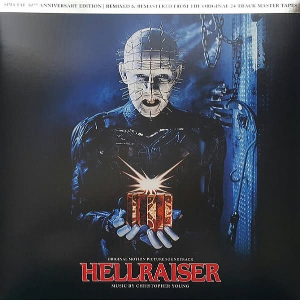 Soundtracks Christopher Young - Hellraiser (Soundtrack) (2017 Press, Red & Black Smoke) (VG+)