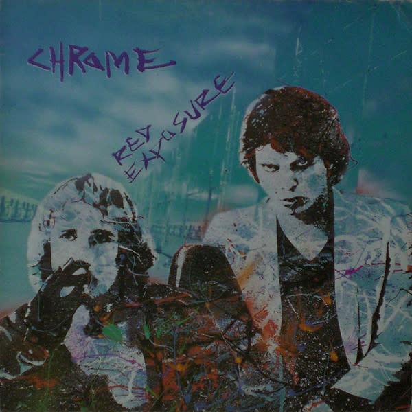 Rock/Pop Chrome - Red Exposure (1980 CA Press) (VG+)