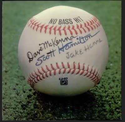 Jazz Dave McKenna / Scott Hamilton / Jake Hanna - No Bass Hit (NM)