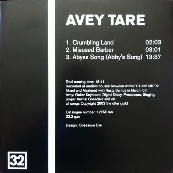 Rock/Pop David Grubbs / Avey Tare - Split Series #16 (VG)