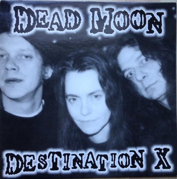 Rock/Pop Dead Moon - Destination X (Original German Press) (NM)