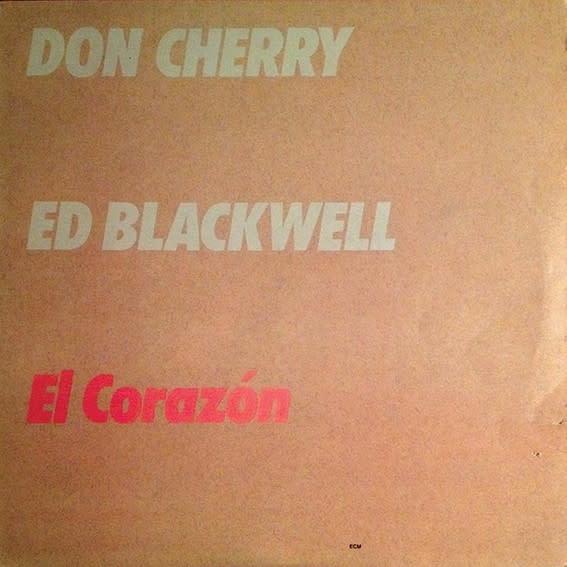 Jazz Don Cherry & Ed Blackwell - El Corazon (VG+)