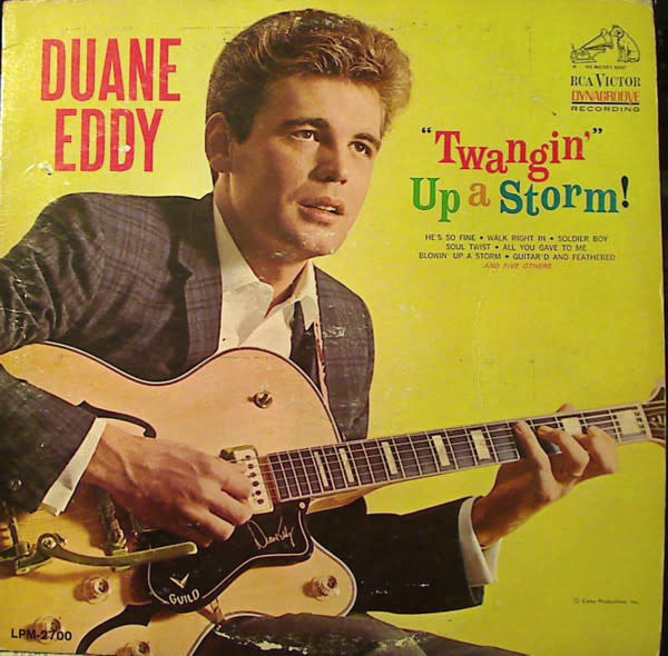 "Rock/Pop Duane Eddy - ""Twangin'"" Up A Storm! (VG)"