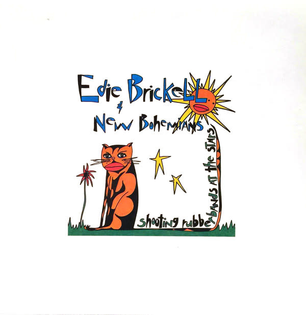 Rock/Pop Edie Brickell & New Bohemians - Shooting Rubberbands At The Stars (VG+)