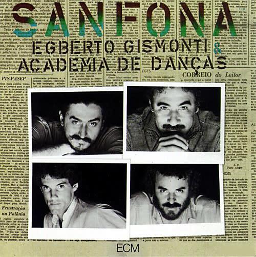 Jazz Egberto Gismonti & Academia De Danças – Sanfona (VG++)