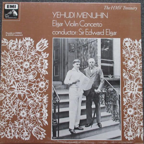 Classical Elgar - Violin Concerto - Menuhin (UK Mono) (VG+)