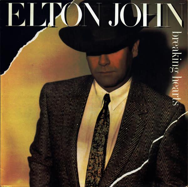 Rock/Pop Elton John - Breaking Hearts (VG+)
