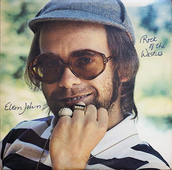 Rock/Pop Elton John - Rock Of The Westies (VG+)