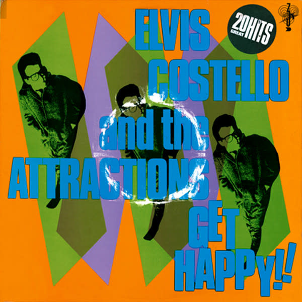 Rock/Pop Elvis Costello And The Attractions - Get Happy! (UK Press) (VG+)