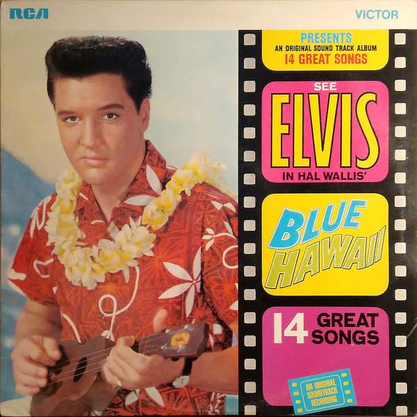 Rock/Pop Elvis Presley - Blue Hawaii (1970 UK Reissue) (VG+)