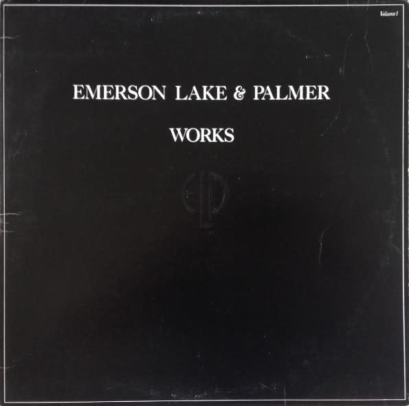 Rock/Pop Emerson, Lake & Palmer - Works (Volume 1) (Superficial warp, does not affect play) (VG++)