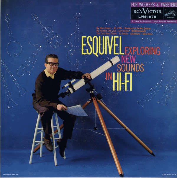 Lounge/Surf Esquivel And His Orchestra - Exploring New Sounds In Hi-Fi (Mono) (VG+)