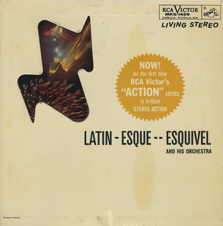 Lounge/Surf Esquivel And His Orchestra - Latin-Esque (Mexico Press) (VG+)