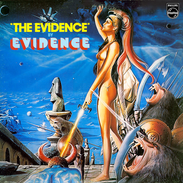 R&B/Soul/Funk Evidence - The Evidence (VG+)