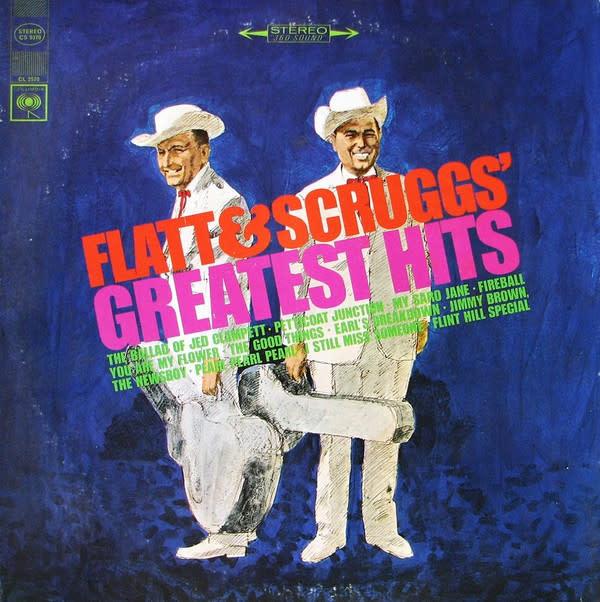 Folk/Country Flatt & Scruggs - Greatest Hits (VG+)