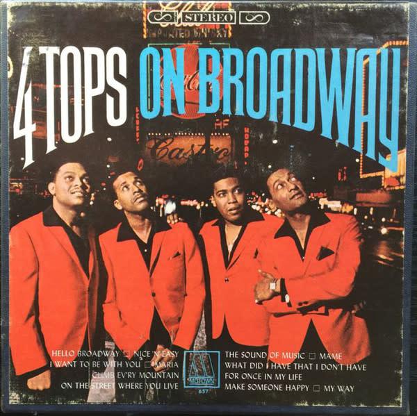 R&B/Soul/Funk Four Tops - 4 Tops On Broadway (VG)